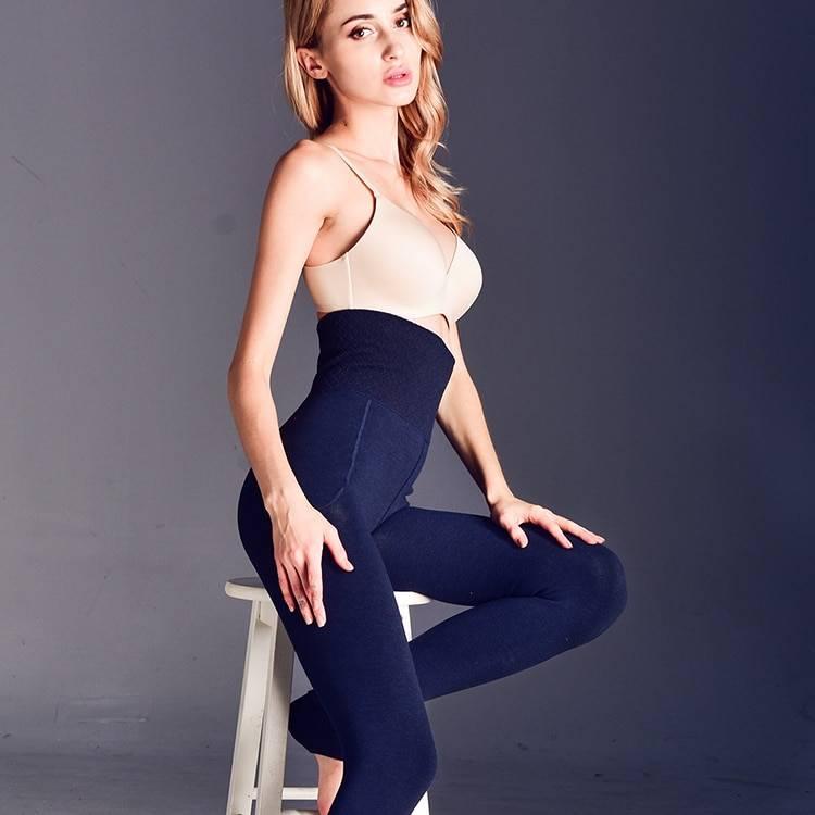 Winter high elastic warm velvet leggings