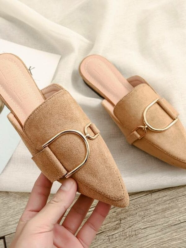 Spring designer woman mules platform slippers