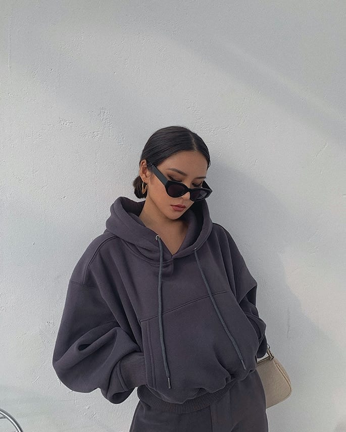 Hoodies Suit Winter Spring Solid Casual Tracksuit Women Velvet 2 Pieces Set Sports Sweatshirts Pullover Home Sweatpants Outfits