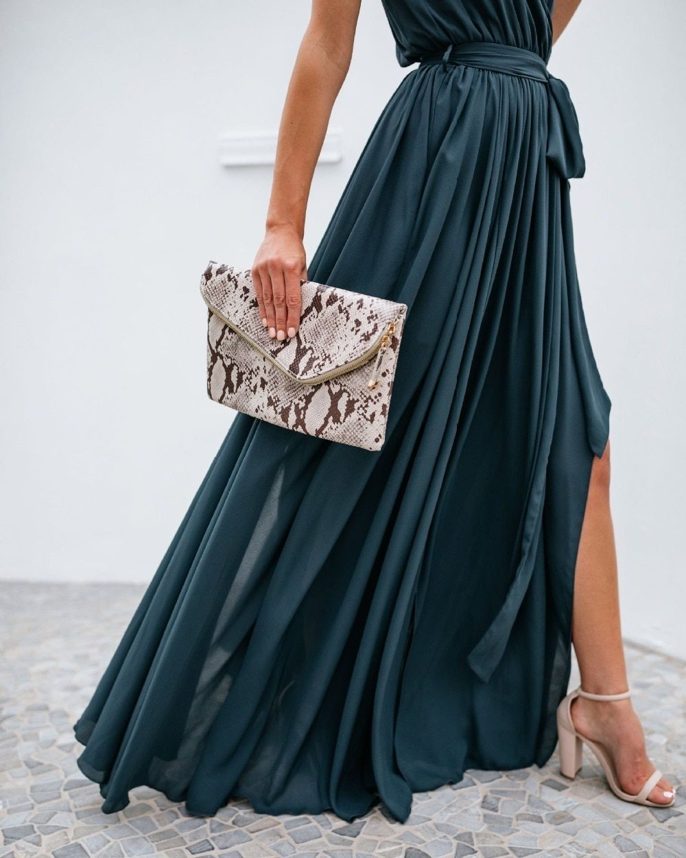 Sexy women Strap Maxi Dress V Neck Backless Chiffon Bandage beach Party Dress elegant Summer boho long dress vestidos 2021 new