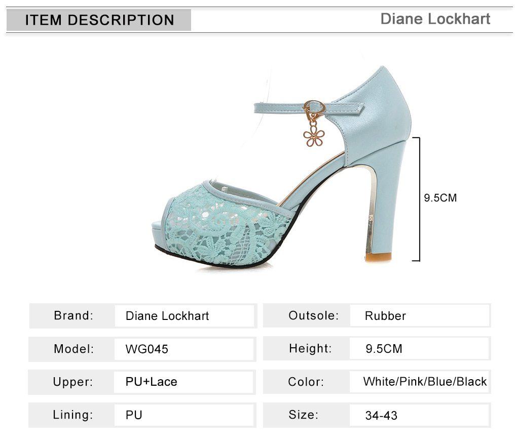 women Summer lace mesh shoes Fish Mouth high heel ladys platform sandals evening dress wedding shoes femal zapatos de mujer 43